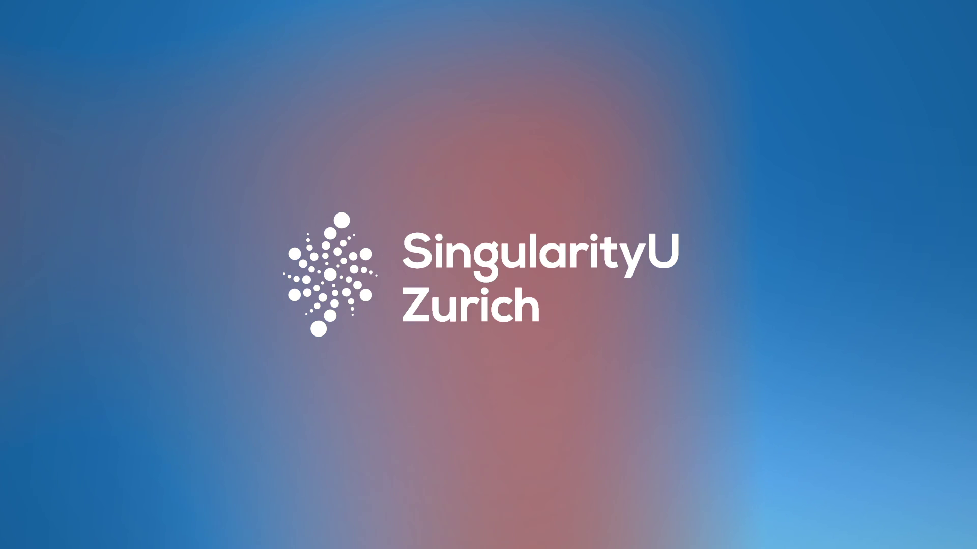 SingularityU - Chapter Zurich